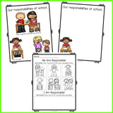 Responsibility Classroom Guidance Lesson for Pre-K and Kindergarten Counseling