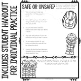 Personal Safety Classroom Guidance Lesson for Elementary School Counseling