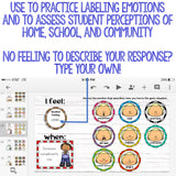 I Feel/When Feeling Labeling Digital Activity for Elementary School Counseling