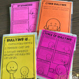 Bullying Centers: Bullying Review Activities for Counseling Guidance Lesson
