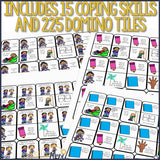 Coping Skills Game: Coping Skills Dominoes Counseling Game