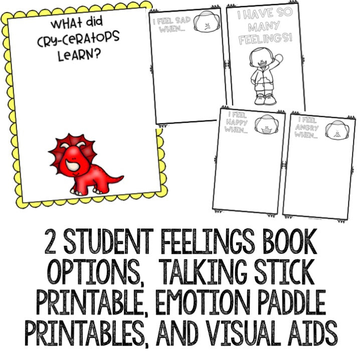 graphic relating to Feelings Book Printable named Inner thoughts Clroom Assist Lesson for Early Fundamental