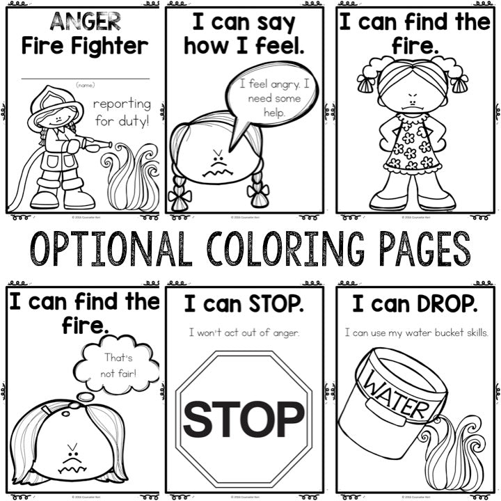 Free Art Therapy Coloring Pages for Helping Professionals - One ... | 720x720