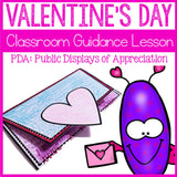 Valentine's Day Activity Classroom Guidance Lesson Appreciating Others