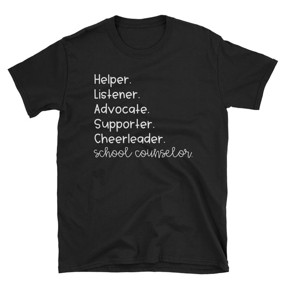 Counselor's Role Short-Sleeve Unisex T-Shirt