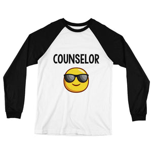 Counselor Long Sleeve Baseball T-Shirt