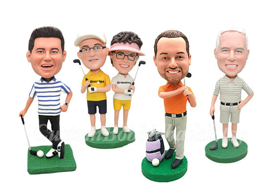 Retirement Gift - Golf Bobblehead