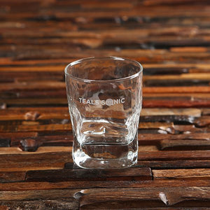 Faceted Whiskey Glass