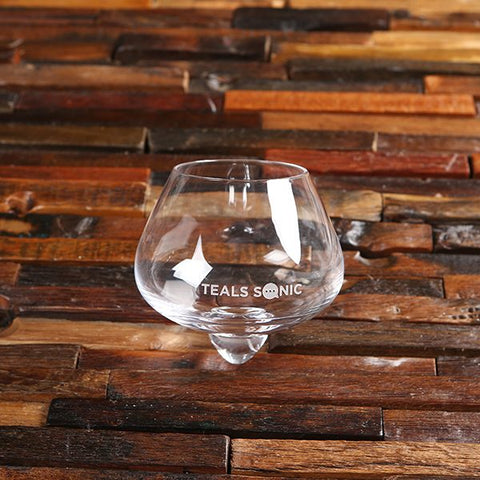 Swiveling Whisky Glass
