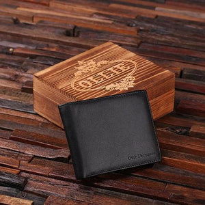 Personalized Wallet - Retirement Gift