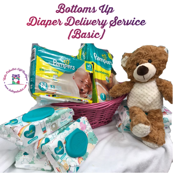 Bottoms Up Diaper Delivery Service (Huggies Brand Basic)