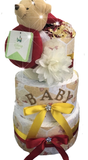 Poor Bear Inspired Diaper Cake