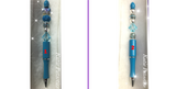 Teal Blue Pen with Exquisite Beading
