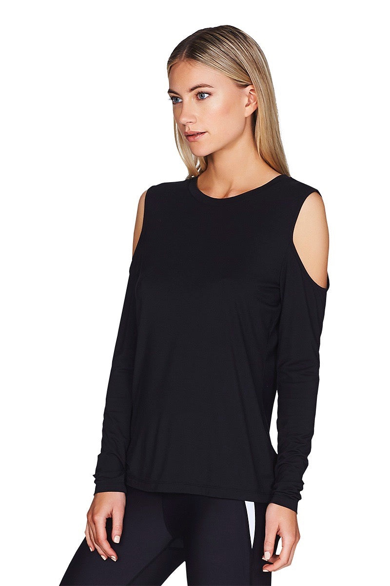 Arley Long Sleeve Tee Women Front Cropped