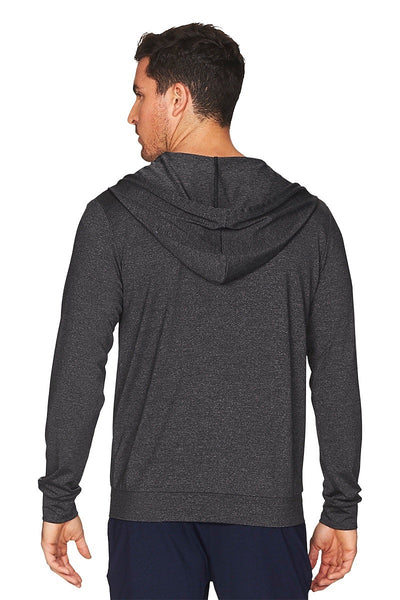 Daybreaker Hoodie Men Back Cropped