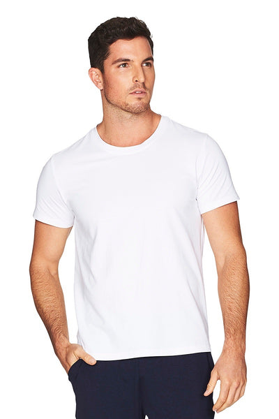 Hamptons White Tee Men Cropped