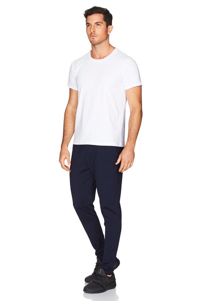 Hamptons White Tee Men Side