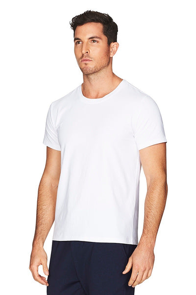 Hamptons White Tee Men Side Cropped