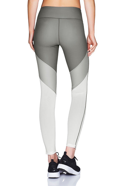 Tri-Tone Mesh 7/8 Tight Back Cropped