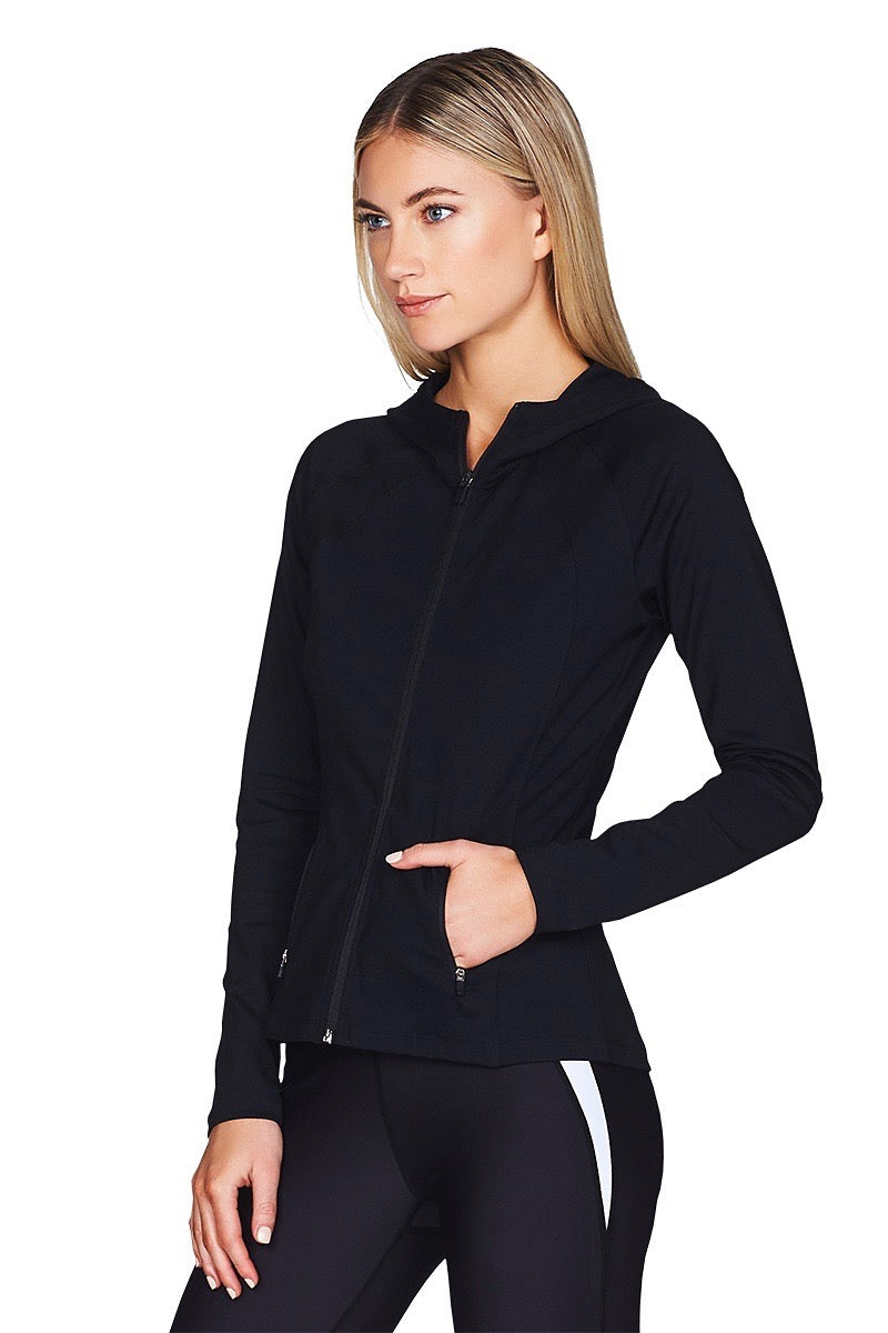 Trinity Black Jacket Cropped