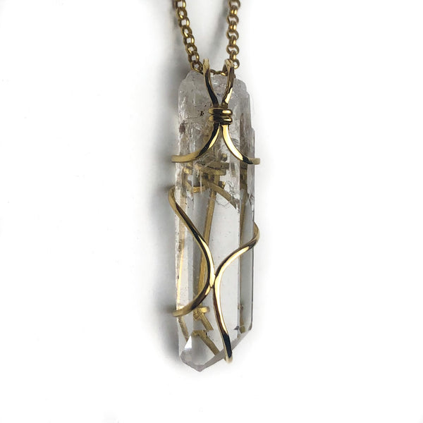 Lemuria Quartz 18k Gold #111