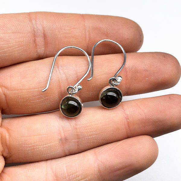 Moldavite Earrings #222