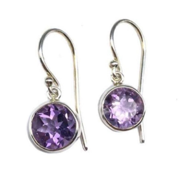 Amethyst Earrings #222
