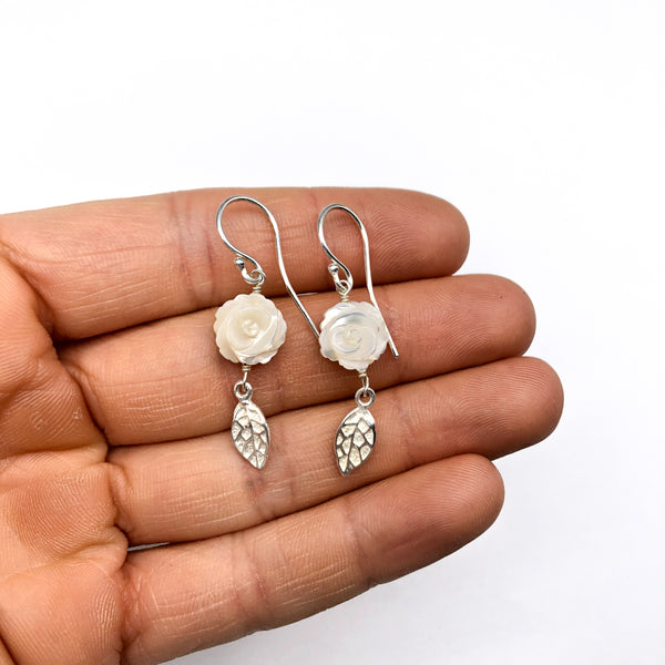 Mother of Pearl Earrings #111