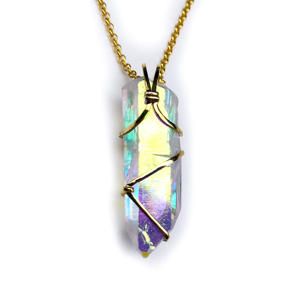 Rainbow Aura 18k Gold #888