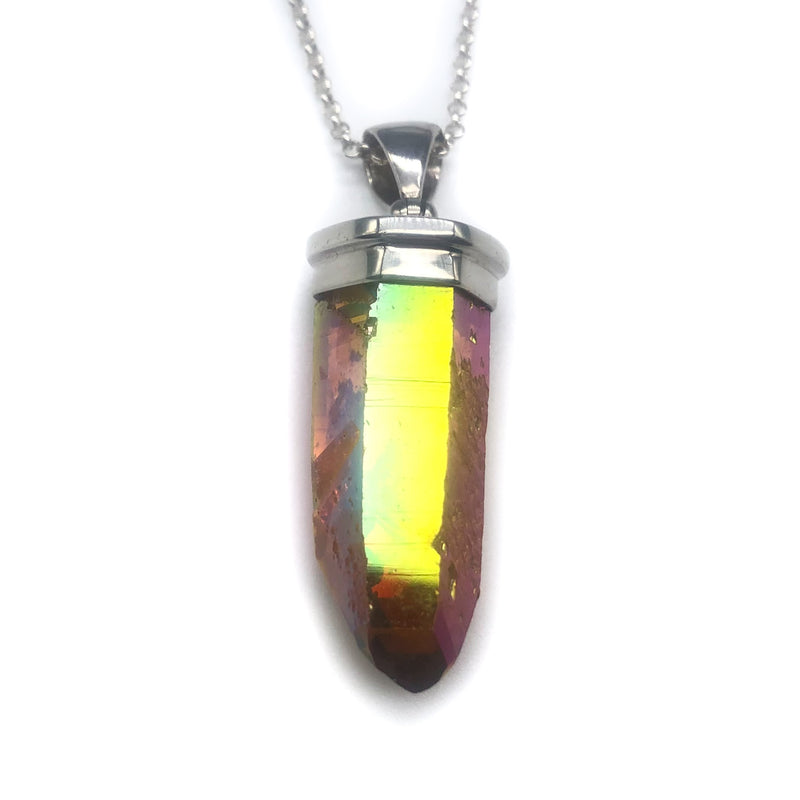 Sunset Aura Quartz #222