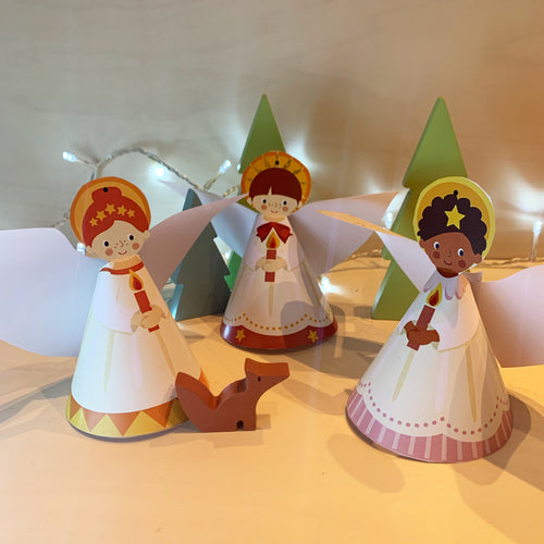 Print your own Angel Decorations