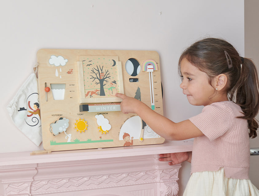 weather,station,wooden,toy,educational,