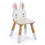 Tender Leaf Toys wooden Rabbit themed chair for children made from top quality plywood and sustainable rubber wood