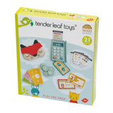 Tender Leaf wooden toys play pay pack