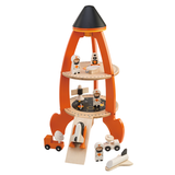 Space Rocket toy with accessories for children