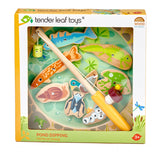 Tender Leaf Toys Wooden magnetic pond dipping game