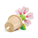 Tender Leaf wooden toy flower pot