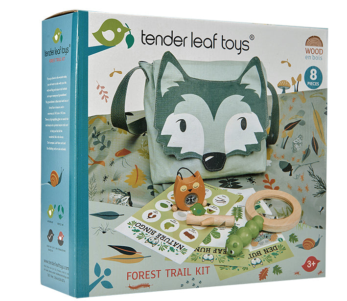 Tender Leaf Toys outdoors kit teaching our children to love the great outdoors