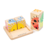 Tender Leaf wooden Baby Blocks for toddlers