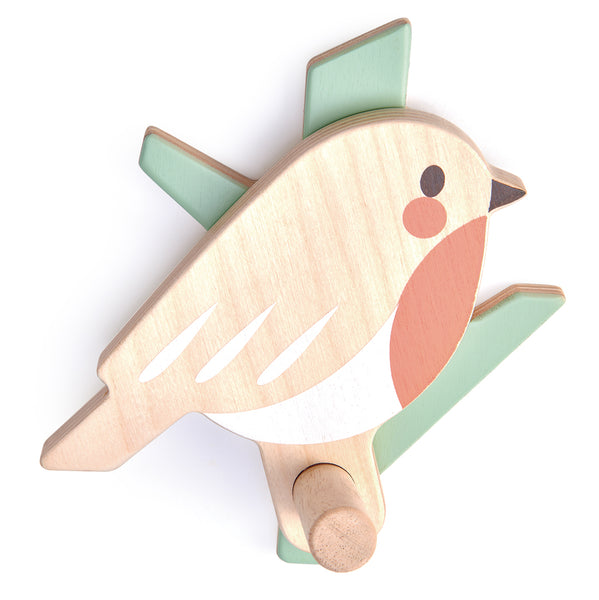 Forest Coat Hook (Robin)