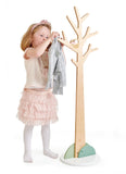Tender Leaf Toys wooden coat stand for children's bedroom