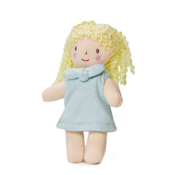 mini fifi bendy wire doll with movable arms and legs for dolls houses plastic-free toys for children