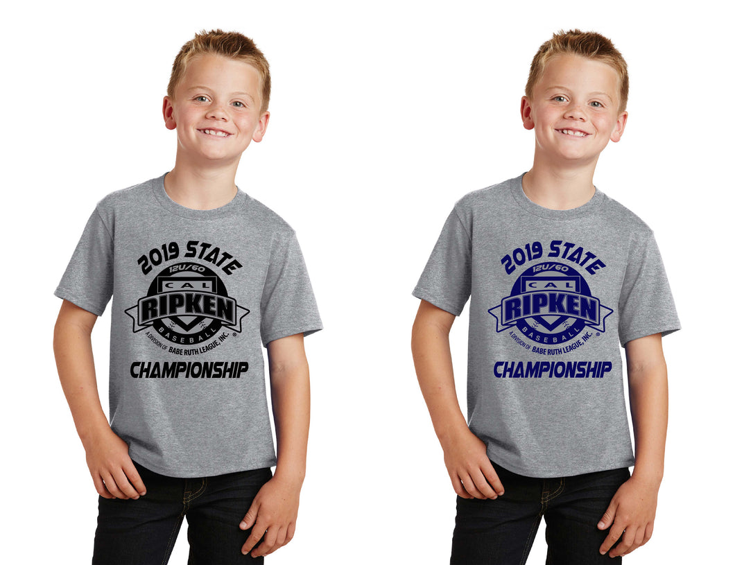 Youth version of Cal Ripken Classic Design Shirt