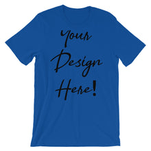 Short-Sleeve Unisex T-Shirt with Custom Design