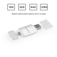 2 in 1 OTG USB Flash Drives For iPhone ipad 16/32/64GB USB 3.0 Dr.Memory Flash Stick Mini