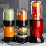 220V Multifunctional Electric Juicer Mini Household Automatic Blender Juicer Machine High Quality Mini Juicer EU/AU/UK Plug