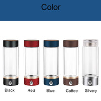 New SPE/ PEM Hydrogen Rich Generator Water Ionizer Bottle Seperate H2 and O2 High Pure hydrogen PET bottle Use