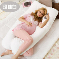U Shape Pregnancy Pillow 140*60cm Maternity big U Shaped Body Pillows Body Pregnancy Pillow For Side Sleeper Removable Cover