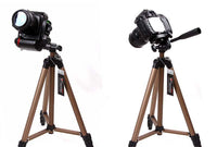 Weifeng WT3130 Protable Lightweight Aluminum Camera Tripod with Rocker Arm Carry Bag for Canon Nikon Sony DSLR Camera Camcorder
