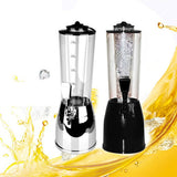 2.5L Ice Core Beer Dispenser Beverage Machine Ice Tube for Wine Alcohol Juice Soft Drink